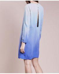 2nd Day - Feodora Dip Dyed Marine Blue Dress - Lyst