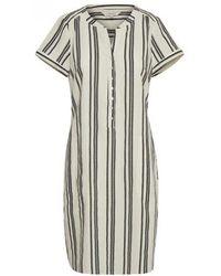 Part Two - Laminas Stripe Linen Dress - Lyst
