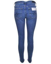 AG Jeans - The Farrah Skinny Ankle - Lyst