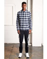 Native Youth - Cambridge Navy Check Shirt - Lyst