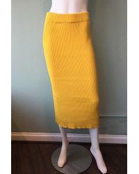 Mara Hoffman | Susan Ribbed Cotton Skirt | Lyst