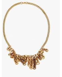 Nicole Romano - Clustered Vintage Fringe Necklace - Lyst