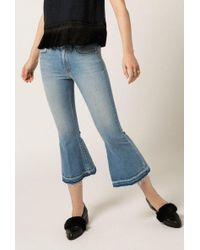 Frankie - Crop Flare Jeans - Lyst