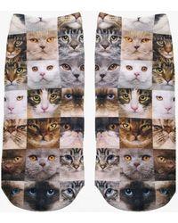 Living Royal - Cat Faces Socks - Lyst