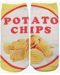 Living Royal - Potato Chips Socks - Lyst
