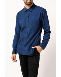 Corridor NYC - Brushed Flannel L/s Shirt - Lyst