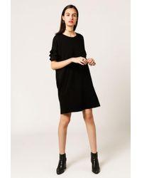 Azalea - Ruffle Sleeve T-shirt Dress - Lyst