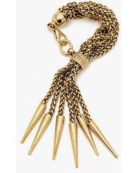Nicole Romano - Multi Chain & Spike Bracelet - Lyst