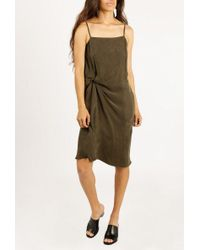 Objects Without Meaning - Twist Lounge Dress - Lyst