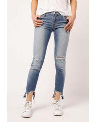 Hudson Jeans - Tally Midrise Skinny Crop - Lyst