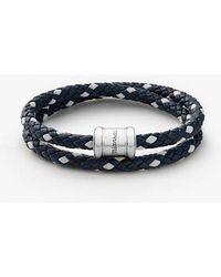 Miansai - Two-tone Leather Bracelet - Lyst
