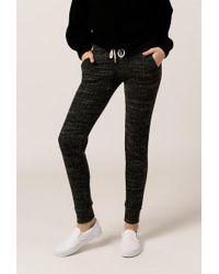 Monrow - Sweater Rib Sporty Sweats - Lyst