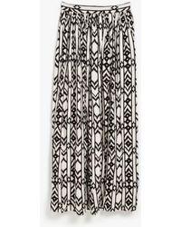 Azalea - Tarragon Printed Maxi Skirt - Lyst