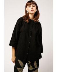 Uzi - Button Kimono Top - Lyst