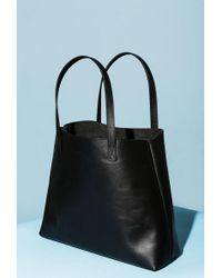Azalea - Leather Shopper Tote Bag - Lyst