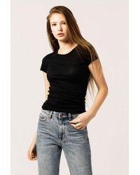 Azalea - Coleta Ss Jersey Slim Fit Top - Lyst