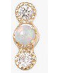 Jennie Kwon - Opal Diamond Dot Stud S - Lyst