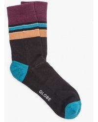 Globe - Rib Stripe Sock - Lyst