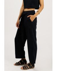 Native Youth | Boat House Crop Trouser | Lyst