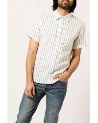 Corridor NYC - S/s Wavey Stripe Shirt - Lyst