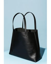 Azalea - Leather Shopper Tote Bag - Lyst