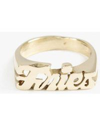 Snash Jewelry - Fries Ring - Lyst