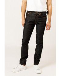 """Nudie Jeans - 32"""" Lean Dean Jean - Lyst"""