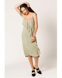 Azalea | Mini Ruffle Front Cami Dress | Lyst