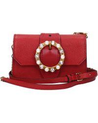 Miu Miu Crossbody Bag Women Red
