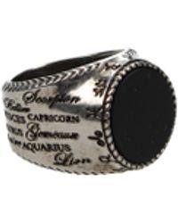Givenchy - Rings Zodiac Ring Men - Lyst