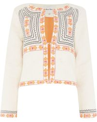 Part Two - On Trend Folk Style Jacket. - Lyst