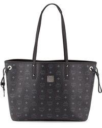 MCM - Shopper Project Visetos Medium Reversible Shopper Tote Bag - Lyst