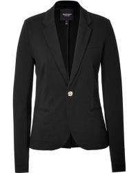 Juicy Couture Ponte One Button Blazer - Lyst