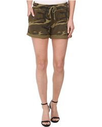 Alternative Apparel Light French Terry Rolled Shorts - Lyst