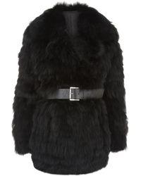 MICHAEL Michael Kors Reversible Fur Coat - Lyst