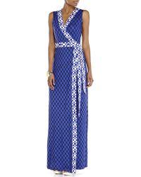 Diane von Furstenberg New Yahzi Long Dress - Lyst