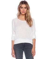 Nsf Clothing White Loretta Tee - Lyst
