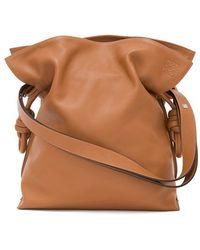 Loewe Women'S 'Flamenco Knot' Calfskin Leather Bag  - Lyst