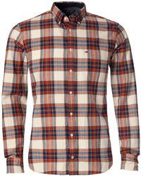 Tommy Hilfiger Iggy Check Shirt - Lyst