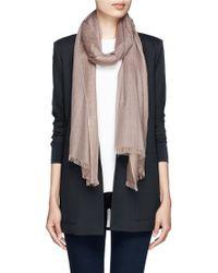 Pashma Jewelled Silk-Cashmere Scarf - Lyst