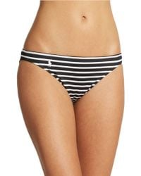 Polo Ralph Lauren Riviera Stripe Taylor Hipster Bikini Bottom - Lyst