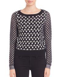 Diane von Furstenberg | Astin Embellished Sweater | Lyst