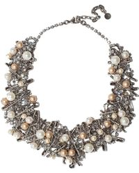 Tom Binns Chaotic Pearl Necklace - Lyst