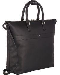 Saint Laurent Top-zip Tote Bag - Lyst
