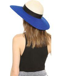 Eugenia Kim Honey Hat - Ivorycobalt - Lyst