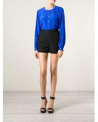 Tamara Mellon - A-line Textured Shorts - Lyst