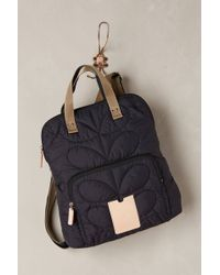 Orla Kiely - Quilted Stem Backpack - Lyst