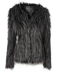 Jane Norman Tipped Fur Coat - Lyst