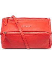 Givenchy Mini Pandora Leather Satchel - Lyst