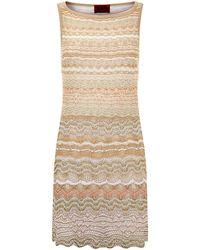 Missoni Lurex Crochet Dress - Lyst
